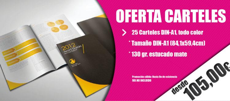 Imprenta oferta carteles