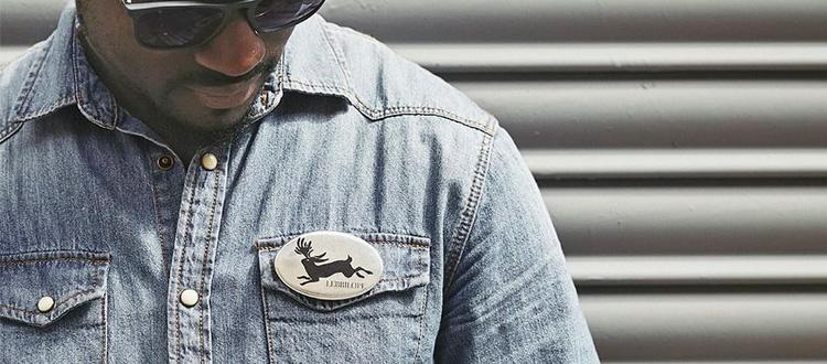 Chapas personalizadas ovaladas