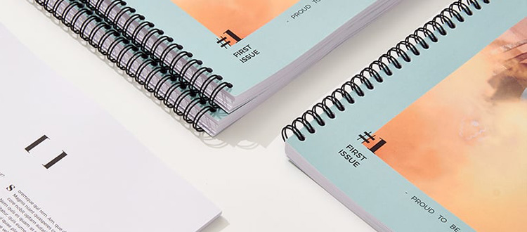 Catálogos empresa imprenta