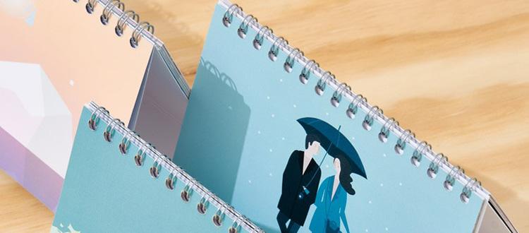Imprenta oferta calendarios de mesa baratos